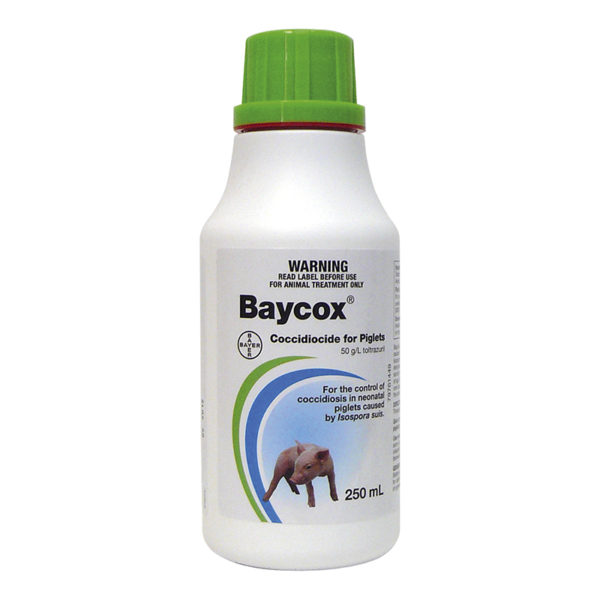 Baycox Piglet and Cattle 250ml