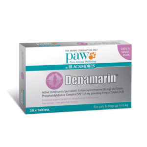 PAW Denamarin 90mg for Cats & Small Dogs - 30 Pack