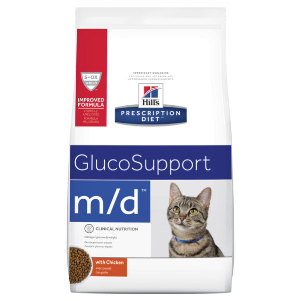 Hills Prescription Diet Feline m/d GlucoSupport 1.8kg