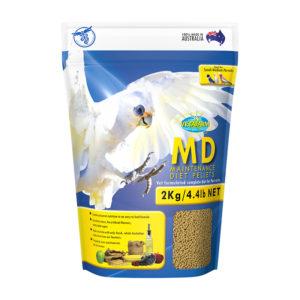 Vetafarm Parrot Maintenance Diet Pellets 2kg