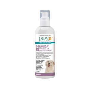 PAW Dermega Omega 3 & 6 Oral Supplement 200ml
