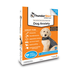ThunderShirt Dog Anxiety Vest Heather Grey Large